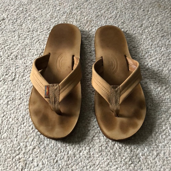 ac0d76225ed1 Men s Brown Rainbow  301 Alts  Sandals Size Small.  M 5b54a093dcfb5acca029594e